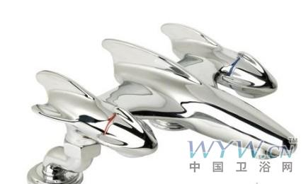 超现代冷暖水龙头设计
