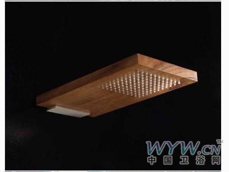 木质淋浴花洒经典设计