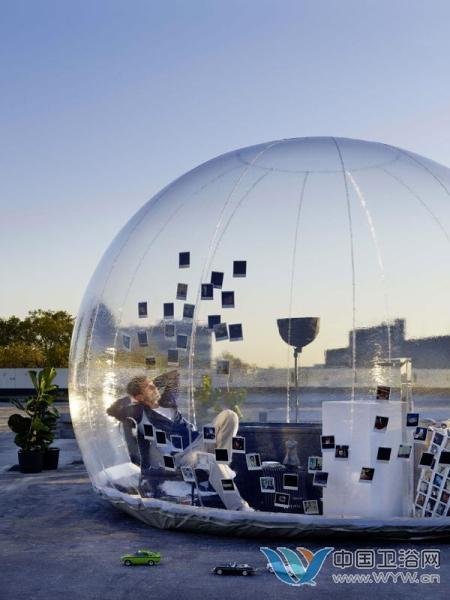 """未来私人核心区域 泡泡浴室打造独立""""茧""""生活"""