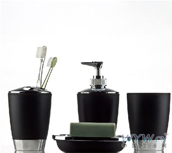 12款黑色系卫浴配件 渲染后现代风格
