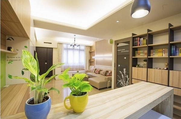 我的家原木造 120平简约家居装修