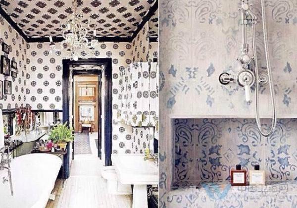 美过客厅的多彩卫浴设计 小清新却不失霸气范