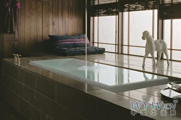 设计师设计的卫浴产品