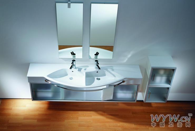 国外设计的情侣洗手池