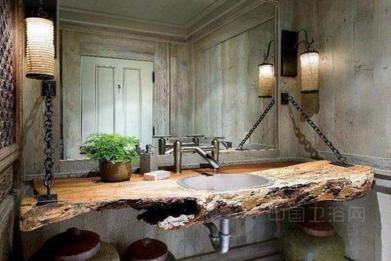 曼妙的田园色彩 质朴乡村风浴室设计