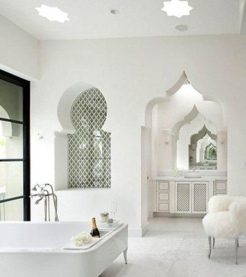 16个卫浴间装饰 撞色的视觉冲击