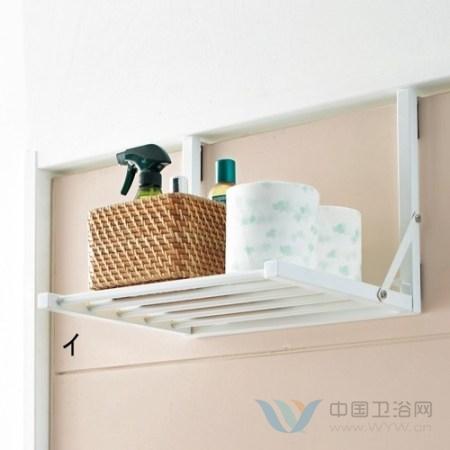 卫浴也要强收纳 给盛夏腾出一片清凉空间