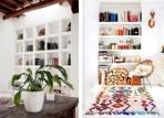 节约空间 嵌入墙体的内置式书柜