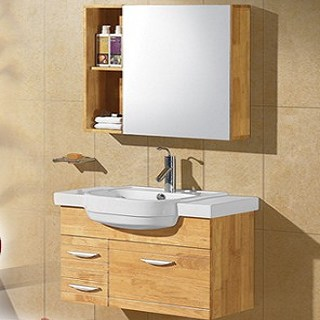【马可波罗卫浴】8048橡木实木浴室柜