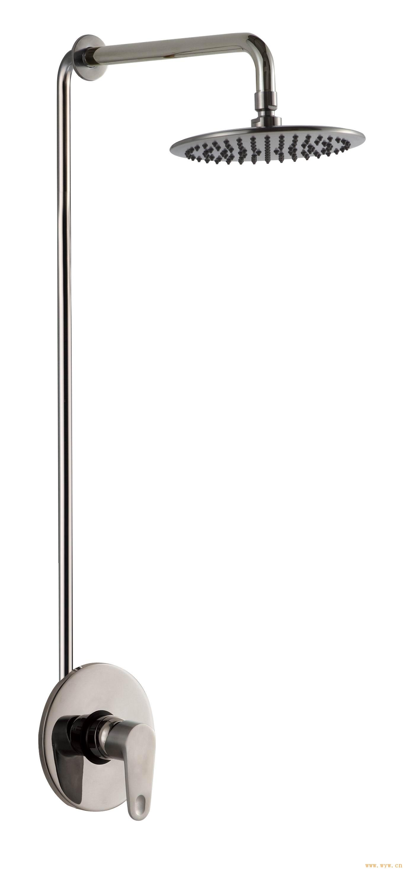 供应暗装淋浴花洒,304#不锈钢淋浴龙头,暗装淋浴龙头