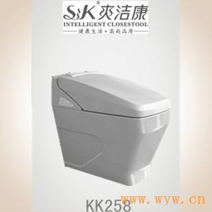 供应爽洁康智能马桶智能洁身器座便器马桶盖卫浴洁具KK258
