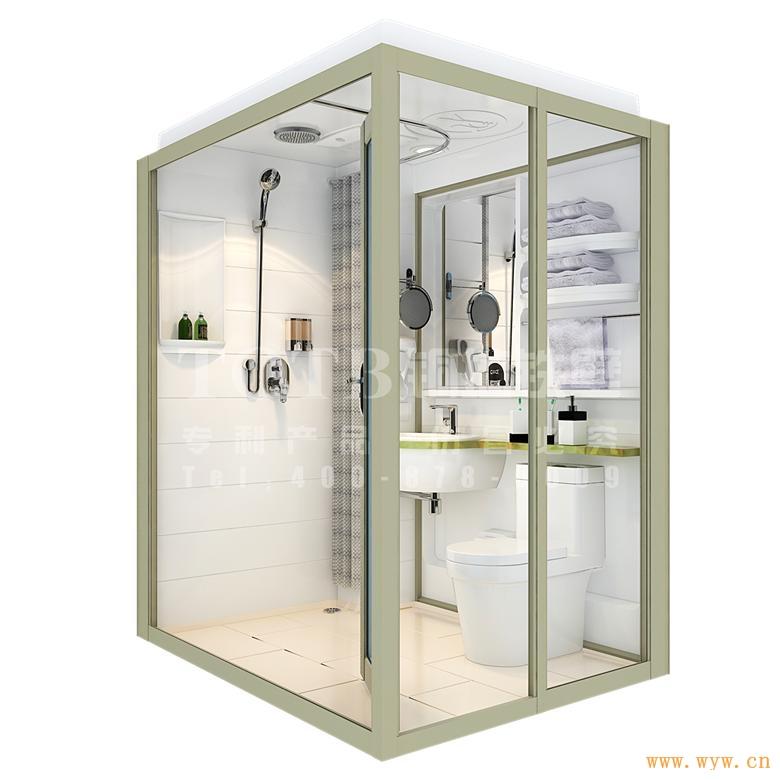 供应TQTB-济南铜墙铁壁整体浴室