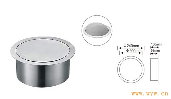 供应嵌入式圆形垃圾桶盖