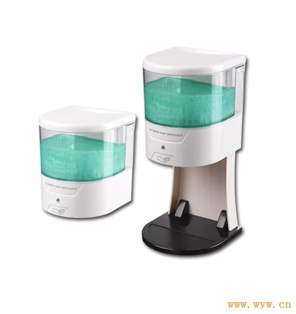供应600ml皂液器感应皂液盒视液器