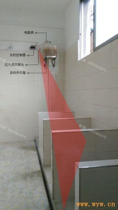 供应公厕节水器智能节水控制器沟槽厕所感应器