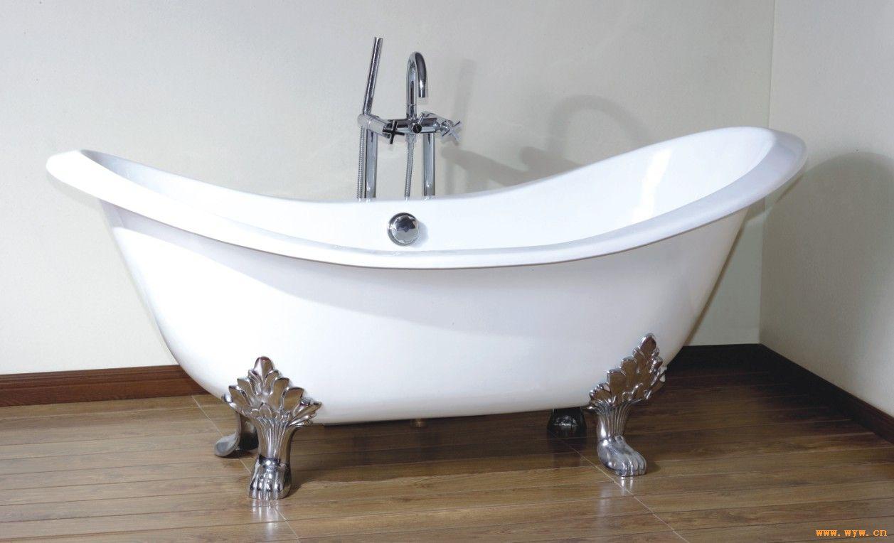 供应古典型铸铁搪瓷浴缸