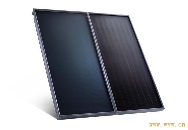 供应平板太阳能集热器背板式