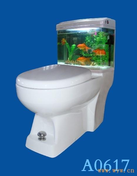 """供应一升马桶""""先排污后清洁""""-厦门杯裕卫浴有限公司"""
