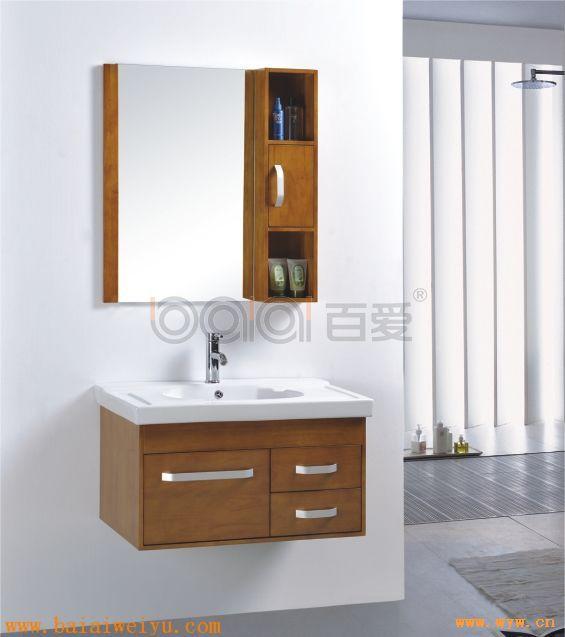 供应橡木浴室柜_图片_中国卫浴网