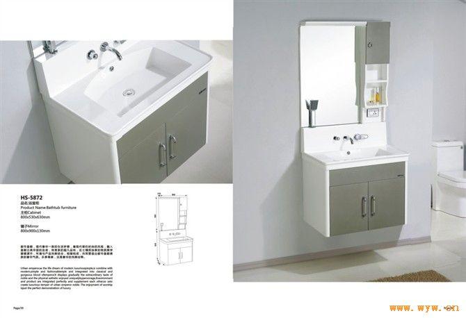 浴柜紙箱版面設計