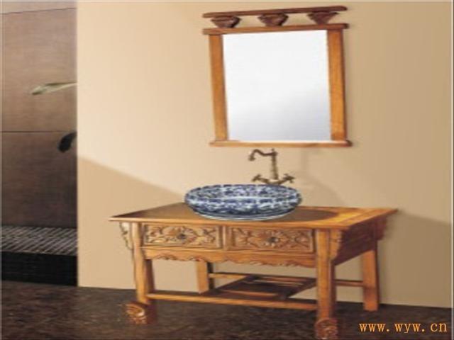 供应艺术陶瓷台上盆浴室柜