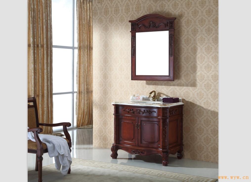 供应实木浴室柜