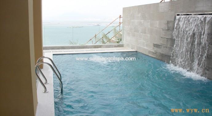 供应海边别墅游泳池-深圳市热浪游泳池设备有限公司