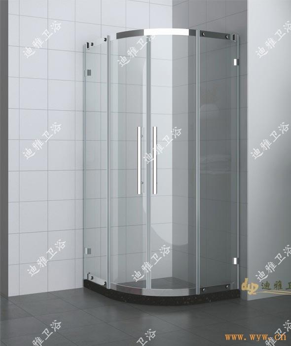 供应不锈钢圆形淋浴房