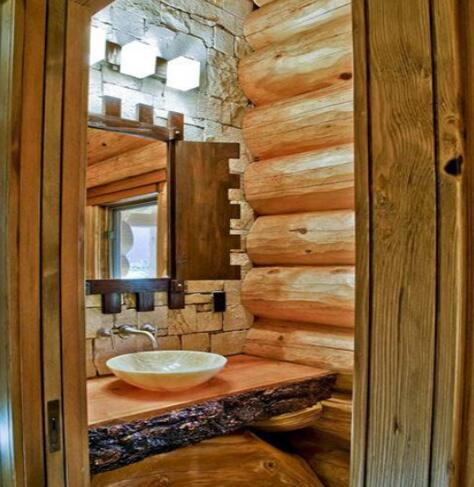创意卫生间装修结果图 解释最完善的艺术空间