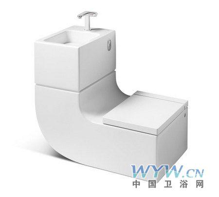 环保洗手池和马桶设计