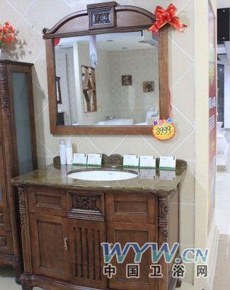 浴室柜气质格外不同,只一眼看上去