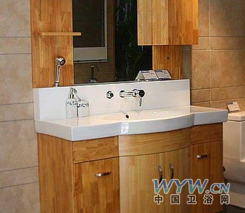 安华卫浴实木系列浴室柜