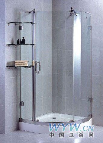 德立圆弧形淋浴房c1502
