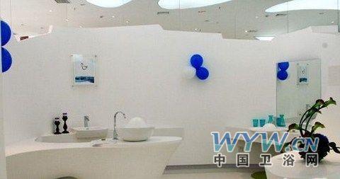 浴室马克笔手绘效果图