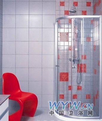 私密空间感性变革 三款舒适卫浴设计-淋浴房,独立