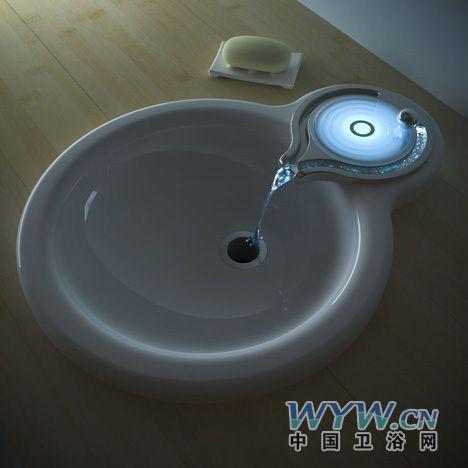 水龙头创意设计 让你的卫浴间充满神秘