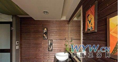 中式的卫生间设计蕴含中国元素