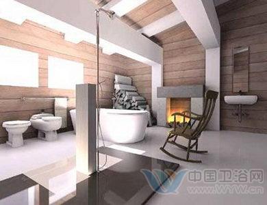 半开放式卫生间设计 沐浴的诱惑时光-酒店及商业空间