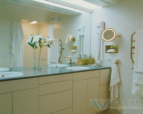 小洗手间装修效果图; 卫生间设计图 清新别致一秒爱上卫浴间;