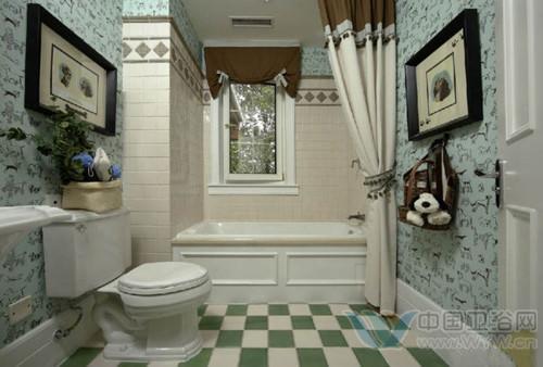 卫生间设计图 清新别致一秒爱上卫浴间