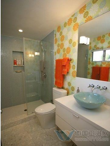 小户型洗手间装修效果图 让您嗔目结舌的角落美