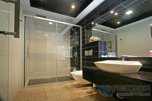 洗手间装修效果图 大户人家的卫生间