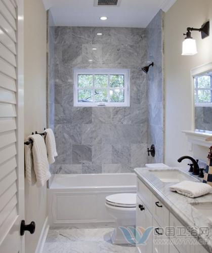 狭窄洗手间装修效果图 小空间装下最温暖的爱-卫生间