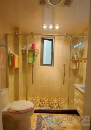 小面积卫生间设计图-落有神奇的美 洗手间装修效果图设计