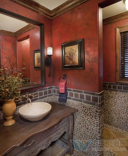 这样的角落有神奇的美 洗手间装修效果图设计图片