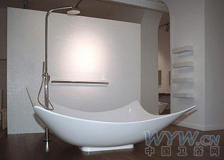 """最""""性感""""的浴缸 小户型卫浴创意设计"""