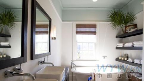 森林系卫浴间设计 拥抱大自然-森系卫浴间,室内设计