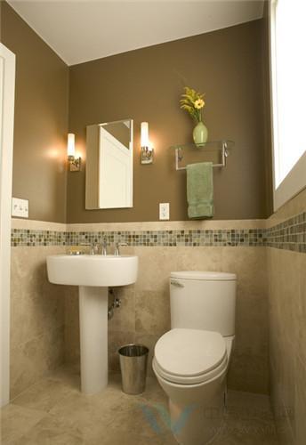 洗手间装修效果图 让您的生活干净又时尚