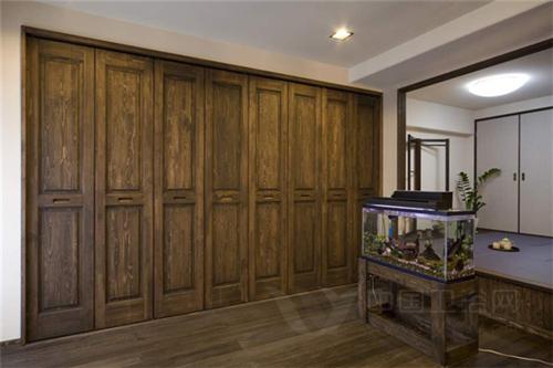 木质装饰兼收纳 日本70㎡和风之家-日式装饰,家居设计
