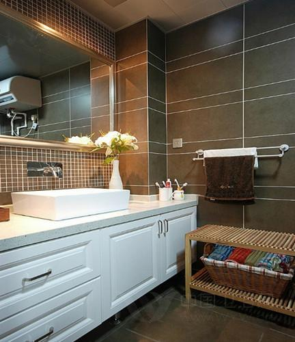 洗手间装修效果图 小空间有大面子